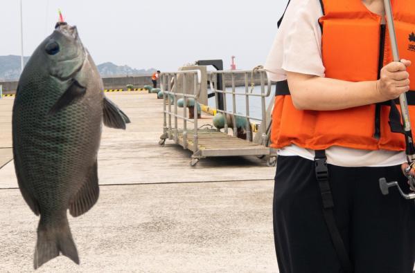 初めての釣り体験&地魚料理-3