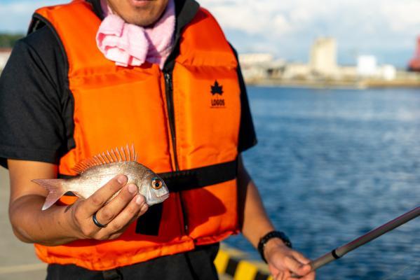 初めての釣り体験&地魚料理-1