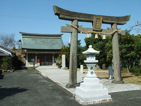 三柱神社(みはしらじんじゃ)-1