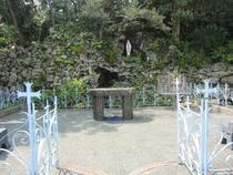 Imochiura Church and Lourdes Grotto-1