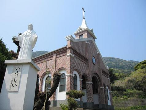 Imochiura Church and Lourdes Grotto-1