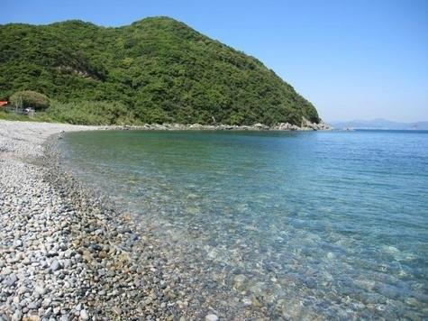 舅ケ島海水浴場-1