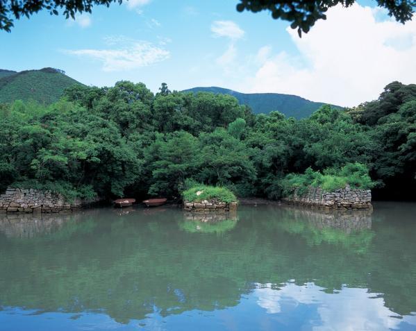 対馬藩お船江跡-2