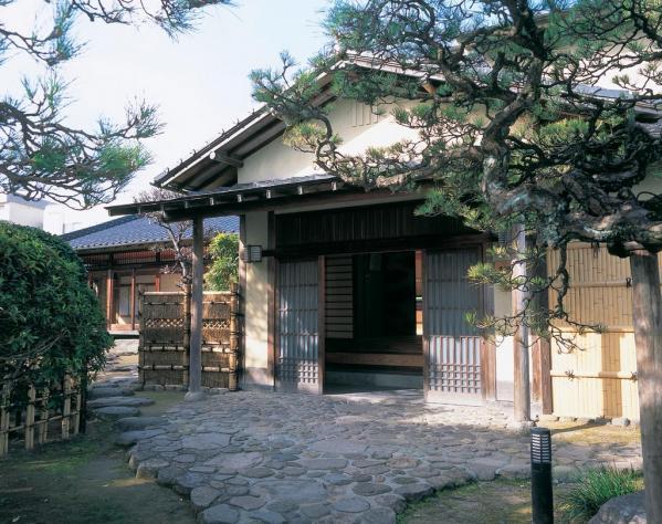 中の茶屋(清水菎展示館)-1