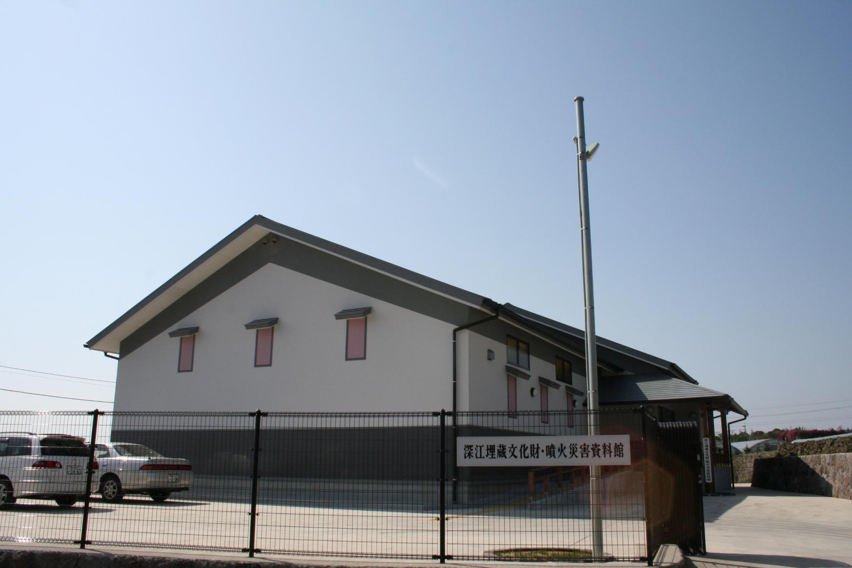 深江埋蔵文化財・噴火災害資料館-1