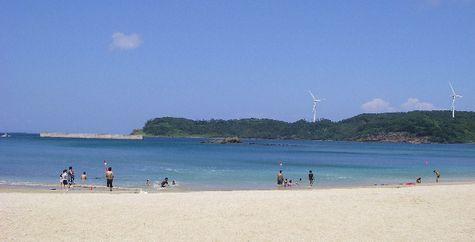 白浜海水浴場(長崎県平戸市大島村)-0