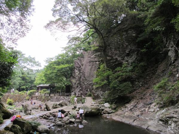 富川渓谷(富川万年の森)-0
