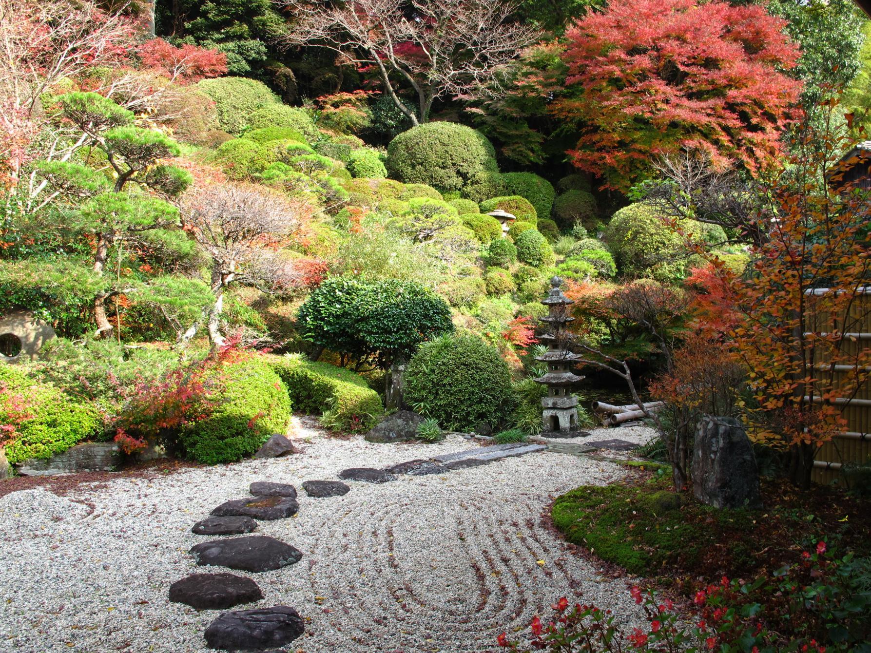 庭園で心を整えよう