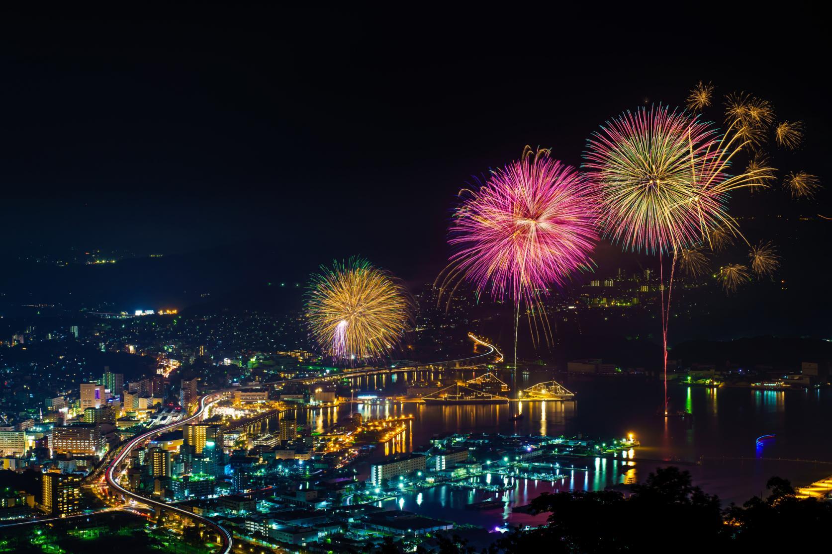 長崎県の花火大会情報